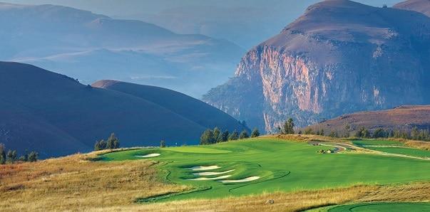 Golfing in Dullstroom
